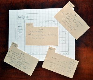 Sketch and Low-Fidelity Prototype Screens